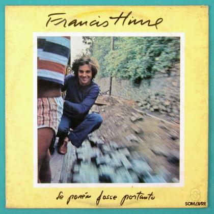 LP FRANCIS HIME SE POREM FOSSE PORTANTO 1978 JAZZ SAMBA BOSSA NOVA FOLK BRAZIL