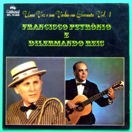 LP FRANCISCO PETRONIO DILERMANDO REIS VOl 4 FOLK BRAZIL