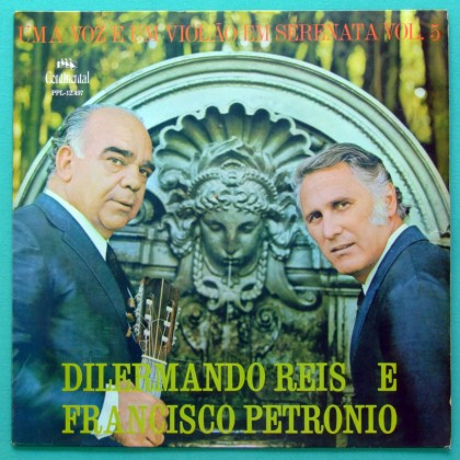 LP FRANCISCO PETRONIO DILERMANDO REIS VOL 5 FOLK BRAZIL