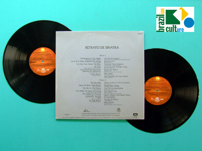 LP FRANK SINATRA RETRATO PROMOTIONAL PRIVATE SPECIAL LIMITED EDITION RARE BRAZIL