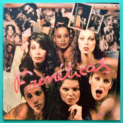 LP FRENETICAS 1977 SOUL GROOVE DJ FUNK FOLK DISCO BRAZIL