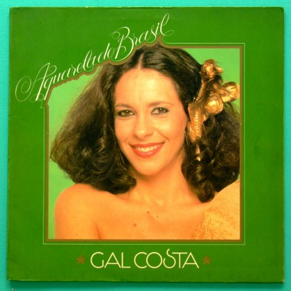 LP GAL COSTA AQUARELA DO BRASIL FOLK PSYCH BOSSA BRAZIL