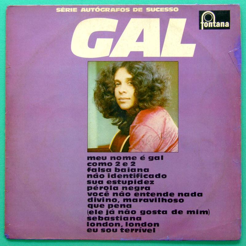 LP GAL COSTA SERIE AUTOGRAFOS DE SUCESSO 1973 PSYCH BOSSA BRAZIL