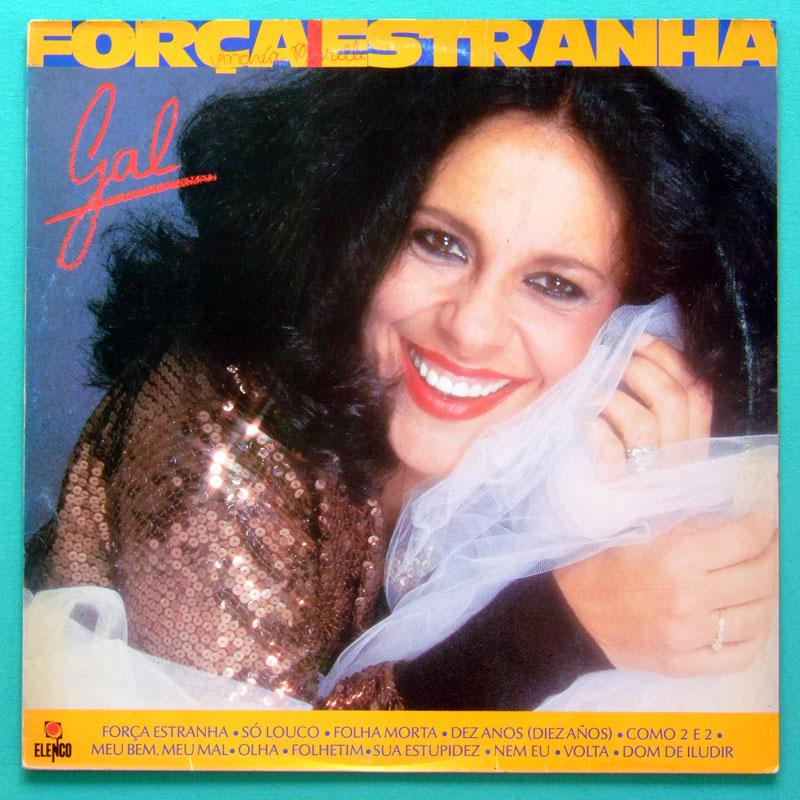 LP GAL COSTA FORCA ESTRANHA 1984 FOLK PSYCH BOSSA BRAZIL