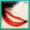 LP GAL COSTA O SORRISO DO GATO DE ALICE 1993 FOLK PSYCH BOSSA BRAZIL