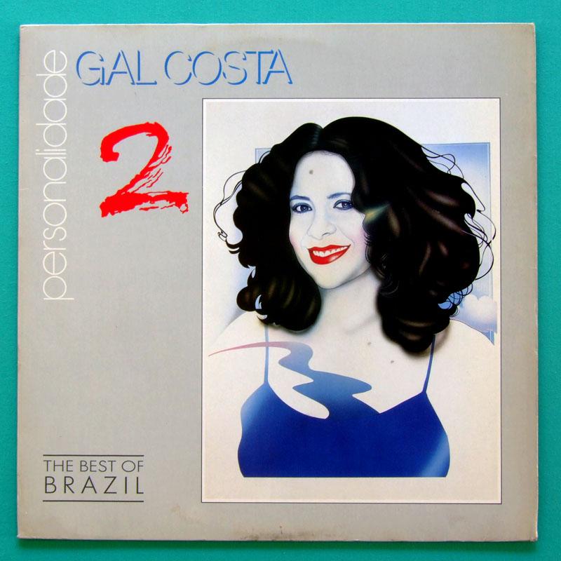 LP GAL COSTA PERSONALIDADE 2 1992 FOLK PSYCH BOSSA BRAZIL