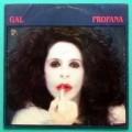 LP GAL COSTA PROFANA 1984 TROPICALIA FOLK PSYCH BOSSA BRAZIL