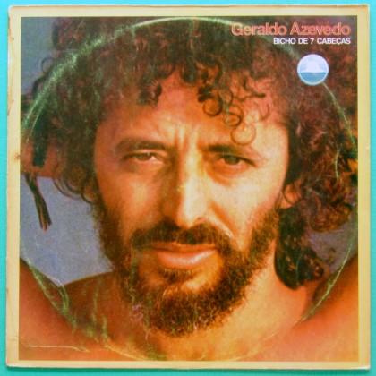 LP GERALDO AZEVEDO BICHO DE 7 CABECAS 1979 FOLK REGIONAL NORTHEASTERN BRASIL
