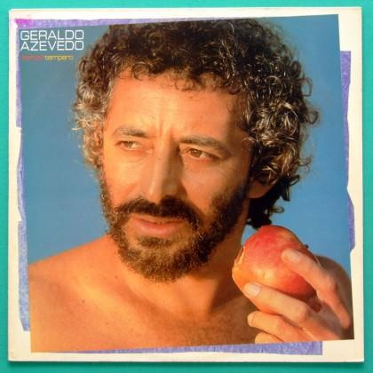 LP GERALDO AZEVEDO TEMPO TEMPERO 1984 REGIONAL FOLK BRASIL