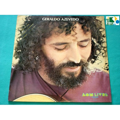 LP GERALDO AZEVEDO 1ST 1977 ALCEU VALENCA REGIONAL FOLK PSYCH BRAZIL