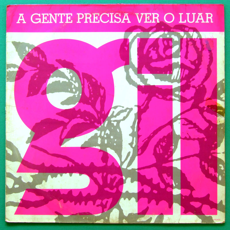 LP GILBERTO GIL A GENTE PRECISA VER O LUAR 1989 GROOVE BOSSA BRASIL