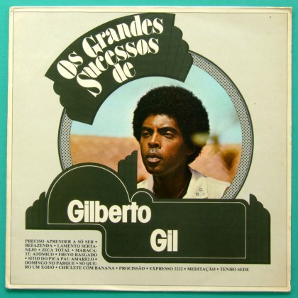 LP GILBERTO GIL GRANDES SUCESSOS1982 PSYCH BOSSA BRASIL