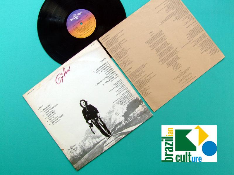 LP GILSON 1ST 1979 FOLK POP BRAZIL