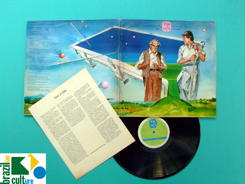 LP GILSON PERANZZETTA E ARTHUR MAIA TOM & VILLA 1986 BRAZIL
