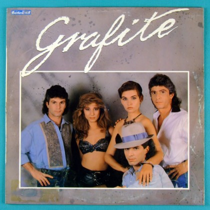 LP GRAFITE 1989 OBSCURE FOLK POP ROCK NEW WAVE BRAZIL
