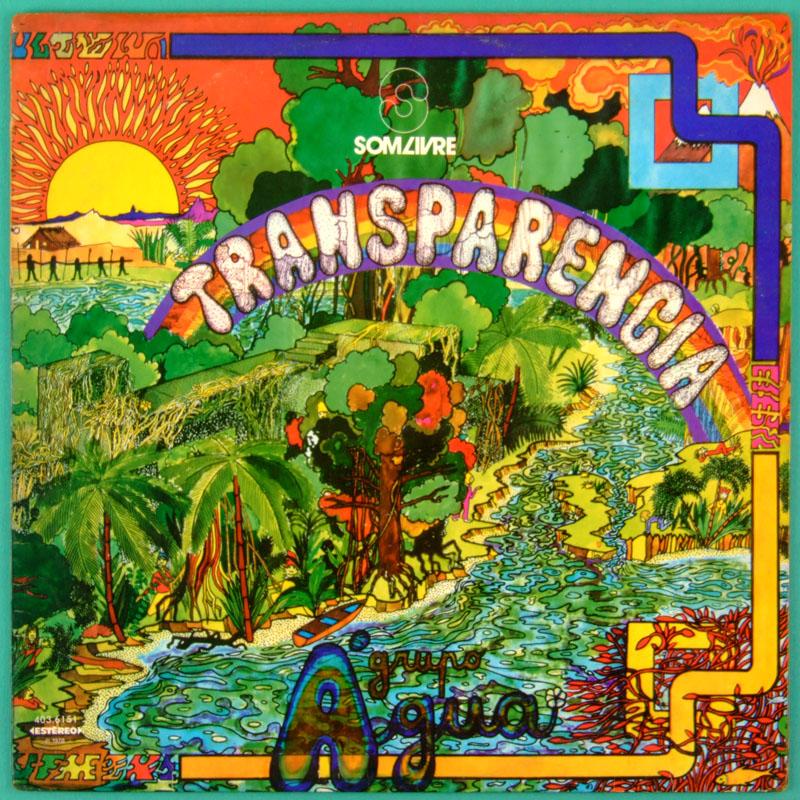 LP GRUPO AGUA TRANSPARENCIA 1978 PSYCH FOLK POKORA BRAZIL