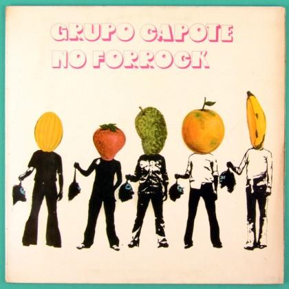 LP GRUPO CAPOTE NO FORROCK 1973 TOM ZE ODAIR CABECA DE POETA PSYCH FOLK BRAZIL