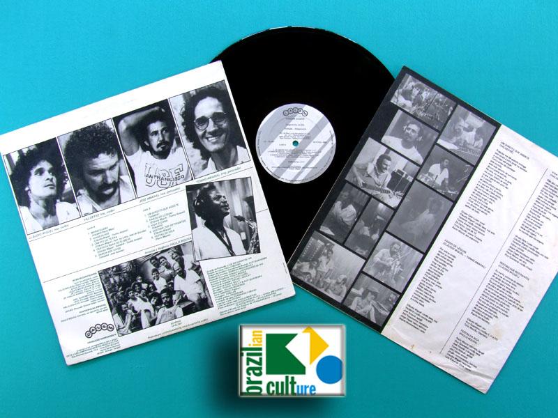 LP GRUPO CATA LUZES 1983 PAULO MOURA TULIO MOURAO DEGAS CHOIR FOLK INDIE BRAZIL