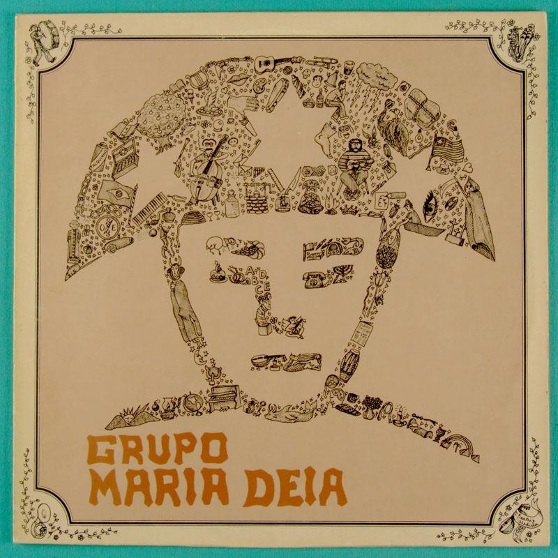 LP GRUPO MARIA DEIA 1980 FOLK REGIONAL NORTHEASTERN INDIE BRAZIL