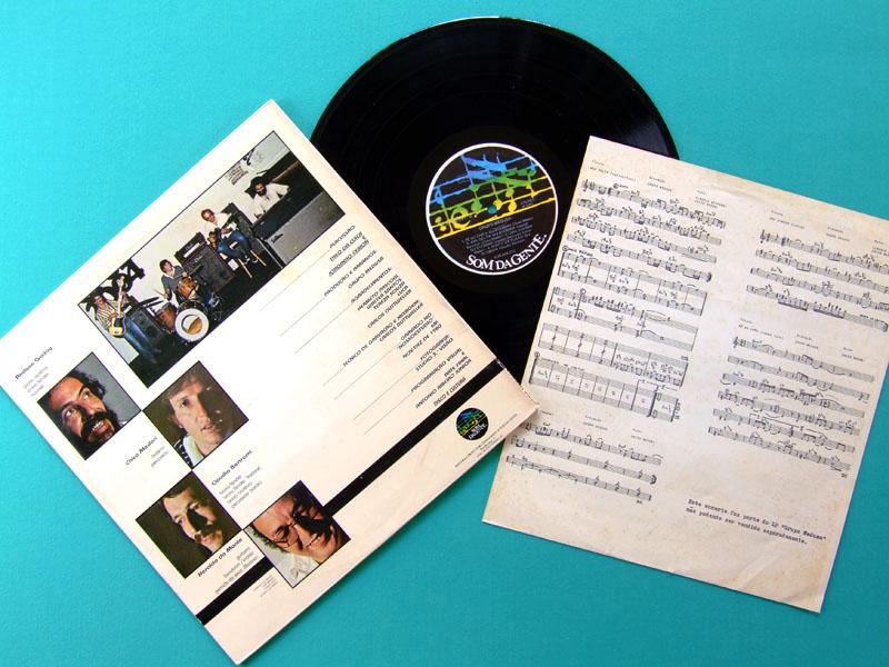 LP GRUPO MEDUSA 1981 BOSSA JAZZ SAMBA INSTRUMENTAL BRAZIL