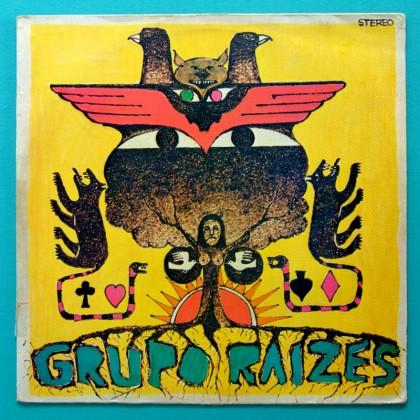 LP GRUPO RAIZES 1974 FOLK PSYCH REGIONAL POKORA MINAS BRAZIL