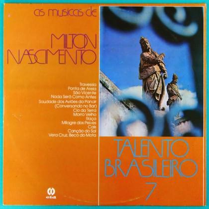 LP JAIME E NAIR AS MUSICAS DE MILTON NASCIMENTO TALENTO 1978 BRAZIL