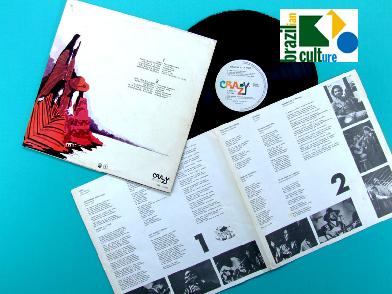 LP GRUPO TARANCON GRACIAS A LA VIDA 1974 LATIN REGIONAL SOUTH AMERICA BRAZIL