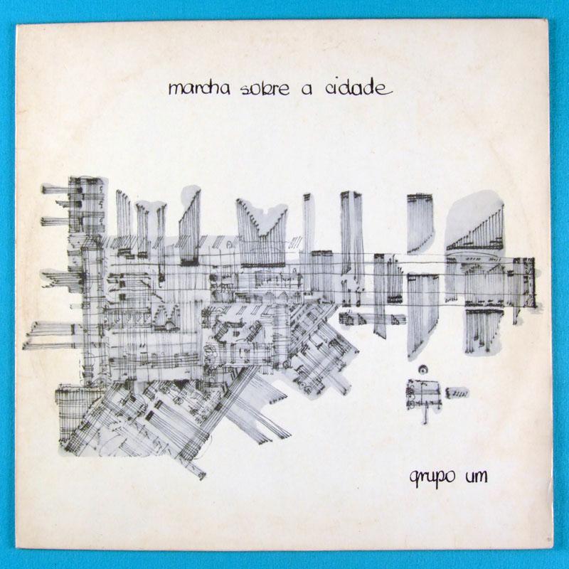 LP GRUPO UM MARCHA SOBRE A CIDADE 1979 JAZZ BOSSA BRAZIL
