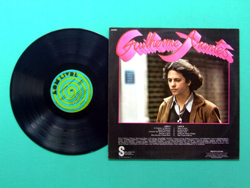 LP GUILHERME ARANTES DEBUT 1972 FOLK GROOVE POP ROCK BRAZIL