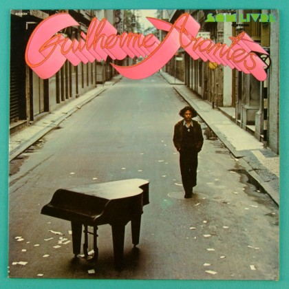 LP GUILHERME ARANTES DEBUT 1972 FOLK GROOVE POP ROCK BRAZIL