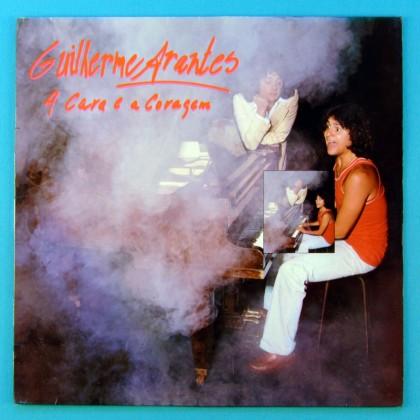 LP GUILHERME ARANTES A CARA E A CORAGEM 1978 FOLK POP BRAZIL