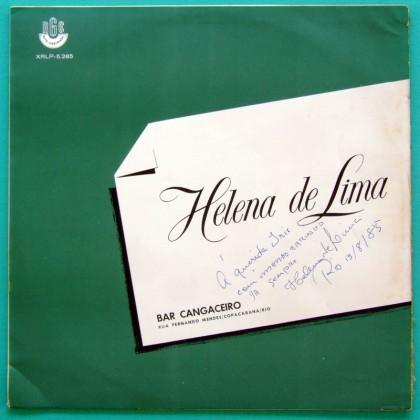 LP HELENA DE LIMA BAR CANGACEIRO 1965 SAMBA BOSSA BRASIL