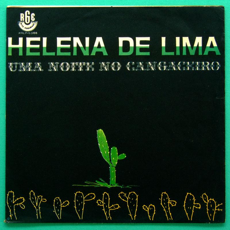 LP HELENA DE LIMA UMA NOITE NO CANGACEIRO 1964 SAMBA BRASIL
