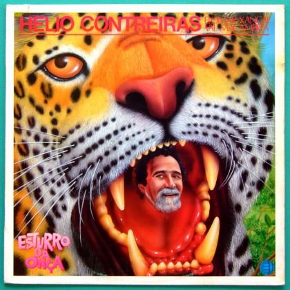 LP HELIO CONTREIRAS ESTURRO ONCA 1990 ELOMAR XANGAI REGIONAL FOLK BRAZIL