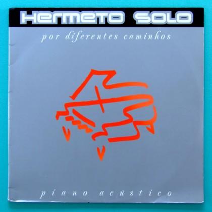 LP HERMETO PASCOAL POR DIFERENTES CAMINHOS 1988 PIANO BRAZIL