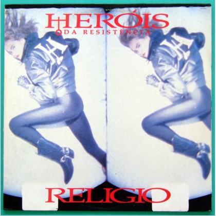 LP HEROIS DA RESISTENCIA RELIGIO 1988 FOLK ROCK PUNK BRASIL