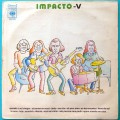 LP IMPACTO CINCO V 5 1973 GILENO ROCK PSYCH DEBUT BRAZIL