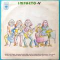 LP IMPACTO CINCO V 5 1973 GILENO ROCK PSYCH DEBUT BRAZIL