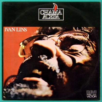 LP IVAN LINS CHAMA ACESA 1975 FOLK SAMBA BOSSA BRAZIL