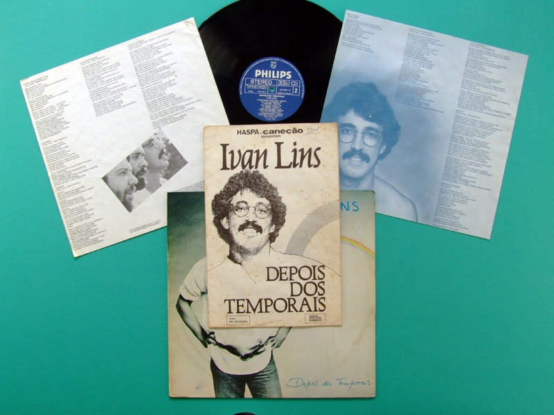 LP IVAN LINS DEPOIS TEMPORAIS 1983 PROGRAM OF SHOW BRAZIL