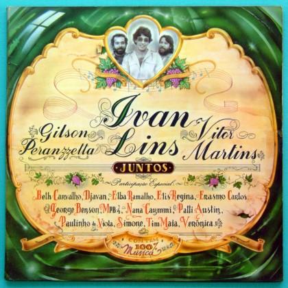 LP IVAN LINS JUNTOS 1984 GILSON PERANZZETTA VITOR MARTINS BRAZIL