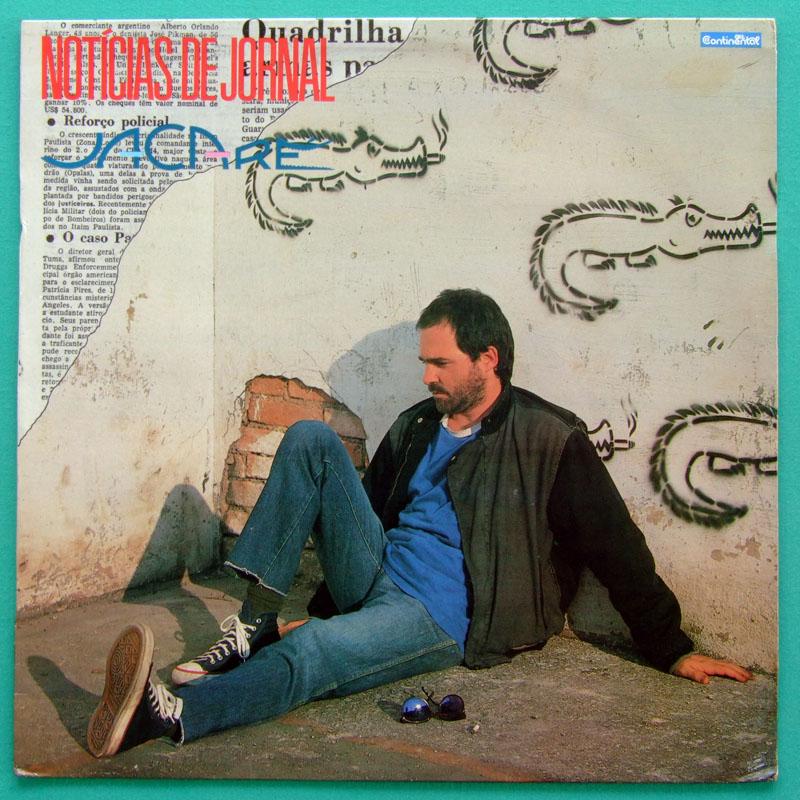 LP JACARE NOTICIAS DE JORNAL 1989 GROOVE FOLK DJ FUNK BRAZIL