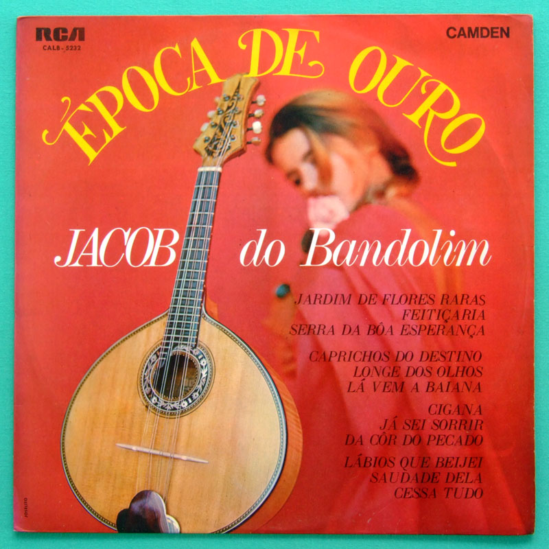LP JACOB DO BANDOLIM EPOCA DE OURO SAMBA 1969 FOLK BRAZIL