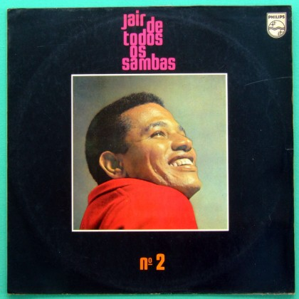 LP JAIR RODRIGUES DE TODOS OS SAMBAS N 2 1969 BOSSA BRAZIL