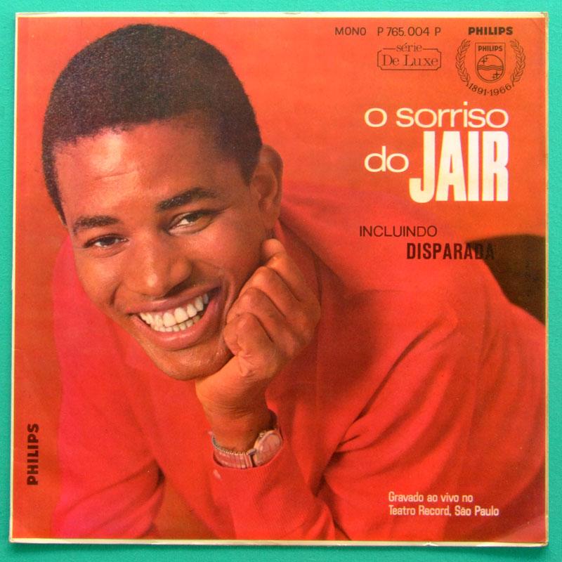 LP JAIR RODRIGUES O SORRISO DO JAIR 1966 BOSSA NOVA SAMBA BRAZIL
