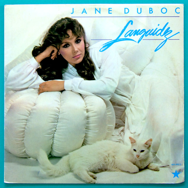 LP JANE DUBOC LANGUIDEZ 1980 DJAVAN JAZZ BLUES BOSSA BRAZIL