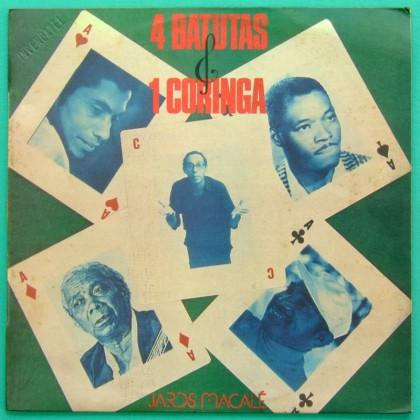 LP JARDS MACALE 4 BATUTAS 1987 BOSSA SAMBA JAZZ BRASIL