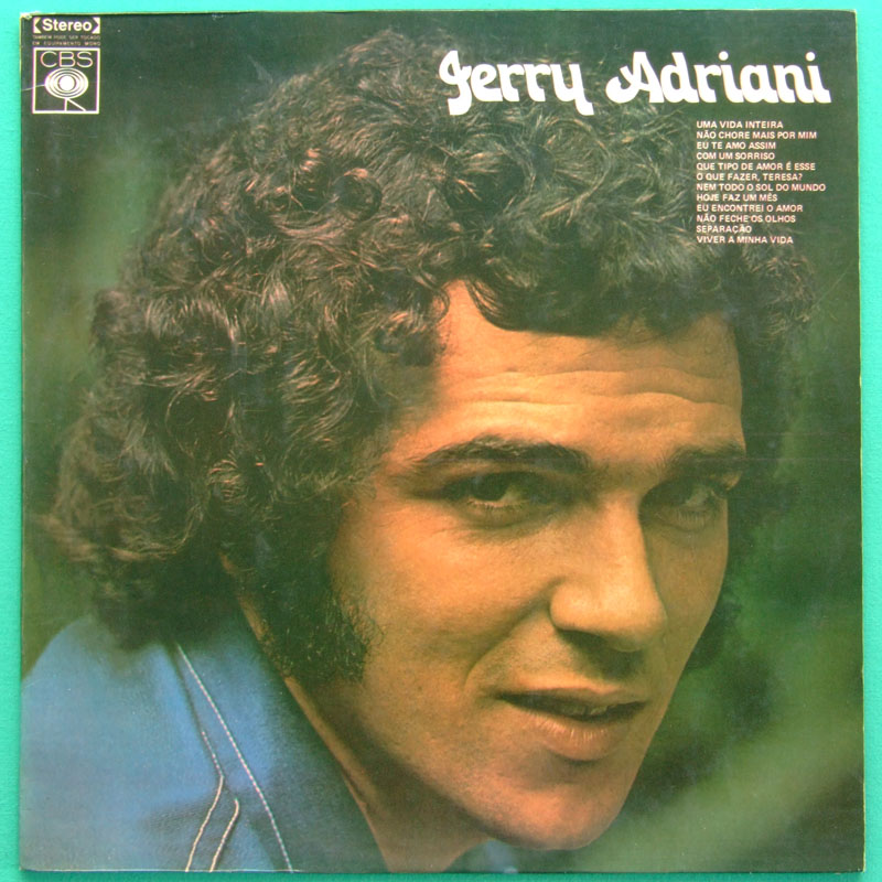 LP JERRY ADRIANI 1973 BEAT JOVEM GUARDA GARAGE BRAZIL