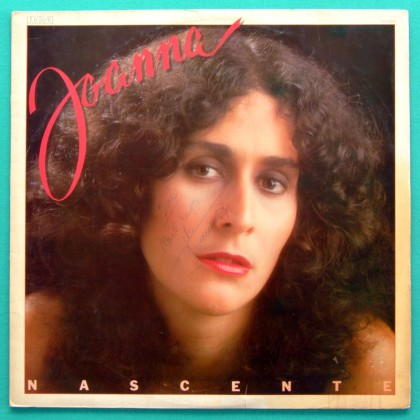 LP JOANNA NASCENTE 1979 AUTOGRAPHED FOLK SOFT ROCK BRASIL