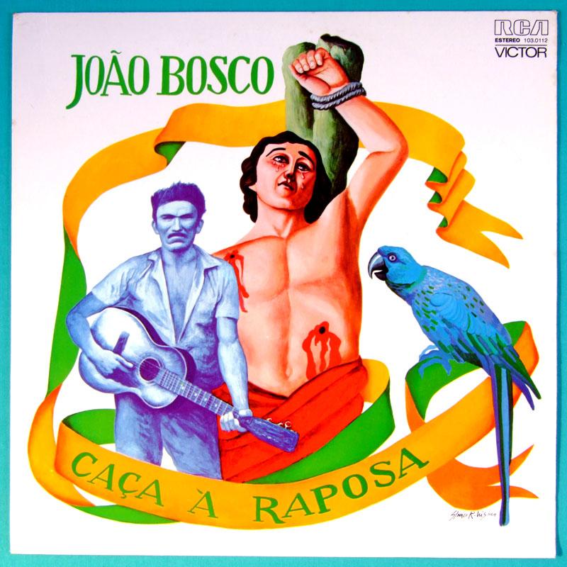 LP JOAO BOSCO 1975 FOLK SOUL JAZZ BOSSA SAMBA ROCK BRAZIL